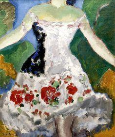 """fleurdulys: """"The Dancer's Costume - Kees van Dongen 1910 """""""