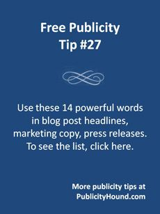 Every time you send an email promotion, or write an article, marketing copy or a blog post, refer to this list of The 14 Most Powerful, Effective Words in Marketing and Publicity. Jeanne Hopkins and Jamie Turner included them in their book Go Mobile. Whether they're used in press releases or article headlines, they make people pay attention, keep reading, click and maybe even buy. Please comment and tell me what other words you would add to this list. #copywriting #headlines #emailmarketing