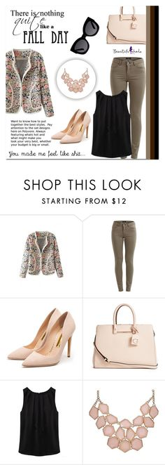 """""""Beautifulhalo 50"""" by mini-kitty ❤ liked on Polyvore featuring VILA, Rupert Sanderson, GUESS, Karen Walker, women's clothing, women, female, woman, misses and juniors"""