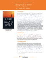 Discussion guide for A Long Walk to Water, a short novel of historical fiction by Linda Sue Park, based on a true story of Salva Dut—one of the Lost Boys of Sudan. https://www.teachervision.com/sudan/printable/74986.html
