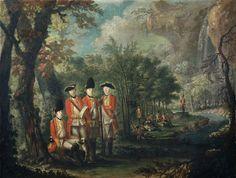 The 25th Regiment of Foot in Minorca (Menorca), 1771 (c).