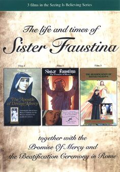 ERC DVD - Seeing Is Believing: The Life And Times Of Sister Faustina / The Promise Of Mercy / The Beatification Of Sister Faustina