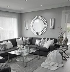 6 Dos and Don'ts of living room remodeling Glam Living Room, Living Room Decor Cozy, Living Room Grey, Living Room Modern, Home And Living, Living Room Designs, Living Room Furniture, Living Rooms, Brown Furniture