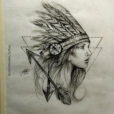 India sketch
