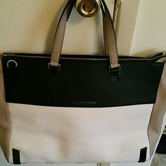 Marc by Marc Jacobs Tote Black white and brown leather tote with shoulder  strap Marc by Marc Jacobs Bags Totes 0c1ecbf520d5e