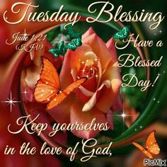Tuesday Blessing. Jude 1:21