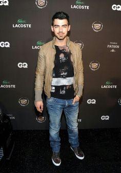 Jeo Jonas in Dior Homme jeans # men's fashion #denim pant # medium wash # cloud wash #  low rise # Skinny fit #