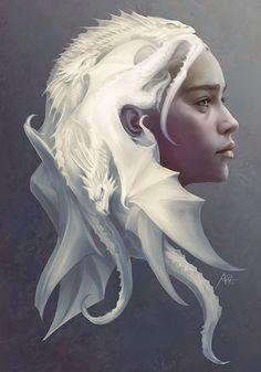 Daenerys Targaryen from Game of Thrones by Stanley Lau
