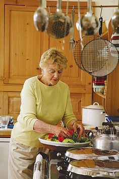 Angela Lansbury at her home in Ireland