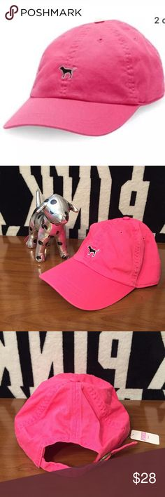 VS PINK GYPSY ROSE 🌹DOG LOGO BASEBALL HAT NEW NWT Victoria's Secret PINK ❤️️Size: ONE SIZE ❤️️Fit: TRUE TO SIZE ❤️️Condition: NEW WITH TAG ❌PRICE IS FIRM❌ ❤️️bundle and save  ❤️️I ship same or next day mon-sat  ❤️PLEASE RATE IN A TIMELY FASHION ❤️Feel free to ask any questions about the item, if you need measurements just let me know. ❤️❤️PrettyinPINK2016❤️❤️ PINK Victoria's Secret Accessories Hats