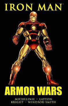Read this classic Iron Man story arc in which some of his enemies have stolen his technology and goes on a personal war to get it back. It's a fantastic tale of obsession, greed, guilt and justice. A
