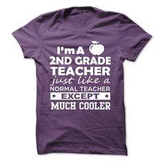 (Tshirt Awesome Sale) 2ND GRADE TEACHER TSHIRT NEW Coupon 10% Hoodies, Funny Tee Shirts