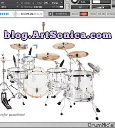 Drumic'a, Soundbank Drum Freeware untuk Kontakt - ArtSonica Blog by Agus Hardiman