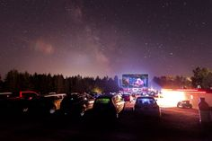 Movie goers can drive to the Brackley Drive-In in Brackley Beach during the summer and watch double features from their vehicles. Red Sand Beach, Stuff To Do, Things To Do, Prince Edward Island, During The Summer, Lighthouse, Northern Lights, To Go, Waves