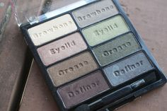 The awesome Wet 'n Wild Comfort Zone palette. Click thru for swatches.