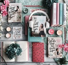 To all the boys I've loved before - Ps I still love you - Always and forever, Lara Jean - Jenny Han Lara Jean, Good Books, Books To Read, My Books, I Still Love You, My Love, Querido John, Popular Series, Book Aesthetic