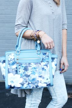Floral + Blues | The Pretty Life Girls