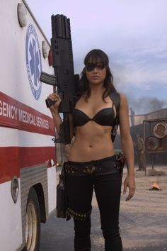 Her in Machete- Like her more in Fast Furious movies though  | followpics.co