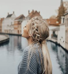 "Anna Lyn Cook | Travel & Style on Instagram: ""I love my @lacedhairextensions ❤️ They add so much thickness and make braids look so much better! #lacedhair"" Let Your Hair Down, Low Pony Hairstyles, Fishtail Braid Hairstyles, Box Braids Hairstyles, Braids Long Hair, Cute Messy Hairstyles, Cute Everyday Hairstyles, Braided Hairstyles Tutorials, Fishtail Braid Wedding"