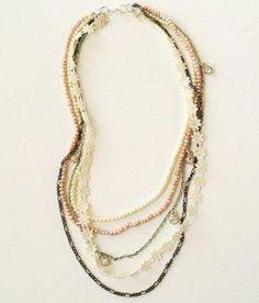 Multistrand Vintage Necklace Tutorial | AllFreeJewelryMaking.com