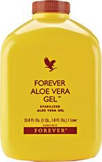 Forever Aloe Vera Gel  Pure stabilised aloe vera gel which is as close to the natural plant juice as possible, containing over 200 different compounds. This rich source of nutrients provides the perfect supplement to a balanced diet. Drink to promote a healthy lifestyle and wellbeing.