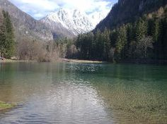 Jezersko lake and surroundings   slovenia