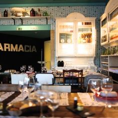 Pharmacia: apothekers restaurant in Lissabon