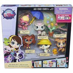Littlest Pet Shop: Sunny Showers Pets Multi-Pack | ToyZoo.com