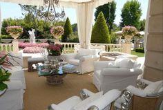 Lisa Vanderpump home style pinks, beige, creme, love it