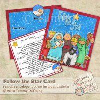 Nativity Christmas Printable card