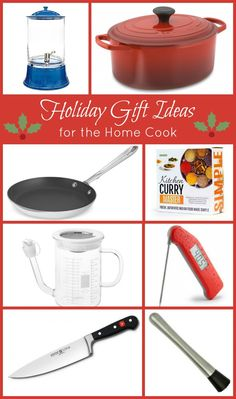 Holiday Gift Ideas for the Home Cook featuring @williamssonoma and others!