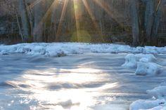 Vintervackert vid Svartån
