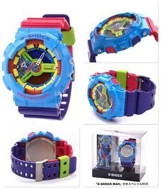 G-Shock's Hyper Colour Series is returning! Casio G Shock Watches, Sport Watches, Casio Watch, Cool Watches, G Shock White, G Shock Men, Vintage Watches For Men, Crazy Shoes, Color