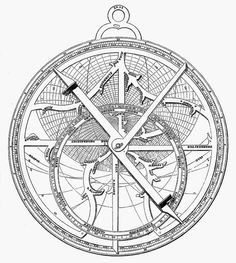 Astrolabe tattoo