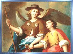 Señor san Rafael glorioso arcángel amado mío, de tu poderosa intercesión ante Dios espero el bien, haz pues que consiga su f...
