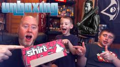Shirt Block Unboxing November 2016 Power Rangers, The Walking Dead, Clue...