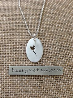 The Mouse Balloon Necklace  Sterling Silver by SilverMePendants, $28.00