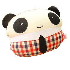 Fashion Design Car Neck pillow/Cartoon Neck Pillow ,(Mr Panda)