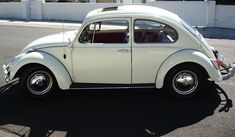 Pearl White Red Interior Sunroof Volkswagen Beetle