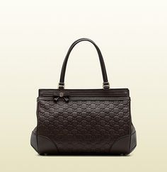 Gucci - 'mayfair' medium tote with bow detail and interlocking G detail. 257063AA61G2019