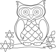 free preschool fall coloring pages printable free colouring sheets animal owl for girls boys