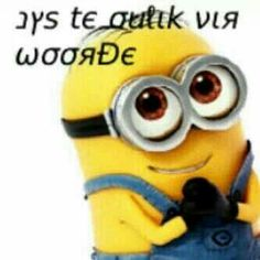 You& too cute for words-Jys te oulik vir woorde You& too cute for words - Funny Images, Funny Pictures, Funny Pics, My Minion, Funny Minion, Afrikaans Quotes, Word 2, Minions Quotes, Best Quotes