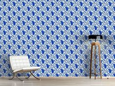 Design #Tapete Paisley Porzellan Paisley, Bouquet, Design, Wall Papers, Self Adhesive Wallpaper, Nice Asses, Bouquets, Shawl