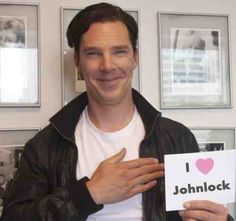 Ben <3 Johnlock... HA TAKE THAT SHERLOLLYS..... though I am not really a Johnlock either....