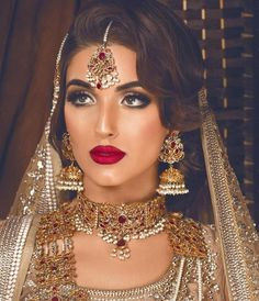 "Sohal Grewal ✨ HMUA (@blueroseartistry) on Instagram: ""Bridal inspo  @reshmamakeupartist ___________________________________________ taking bridal…"""