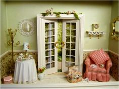 French Door Vignette - SALE