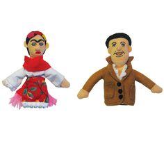 Frida Kahlo + Diego Rivera Dolls  by Philosophers Guild