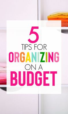 Home Renovation On A Budget Organizing On A Budget Ideas You Must Try - Organizing on a budget is super easy with these tips and tricks! Check out these 5 ideas to get your home organized on a budget. Diy Home Decor On A Budget, Decorating On A Budget, Cheap Home Decor, Interior Decorating, Home Renovation, Home Remodeling, Finanz App, Budget Organization, Organisation Hacks