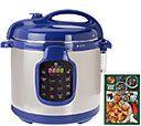 Shps 9/10 CooksEssentials 6 qt. Round Digital S/S Pressure Cooker - K43570 — QVC.com
