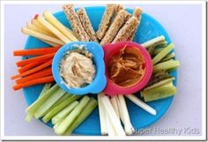 Snack Sticks - good way to get a picky eater to try yummy foods that are out of the traditional style shape!
